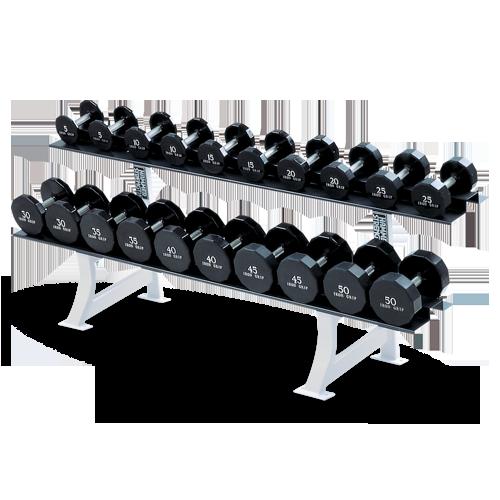 Hammer Strength – 2 Tier Dumbbell Rack