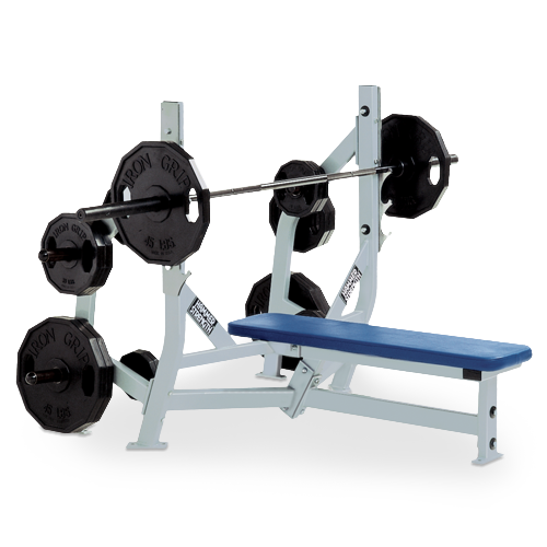 Hammer Strength – Olympic Bench Weight Storage