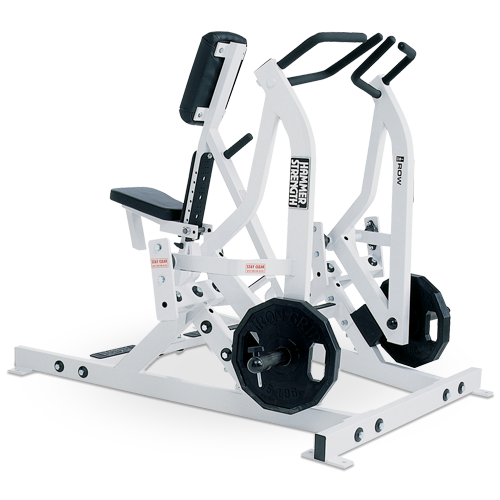 Hammer Strength Plate Loaded – Iso-Lateral Rowing