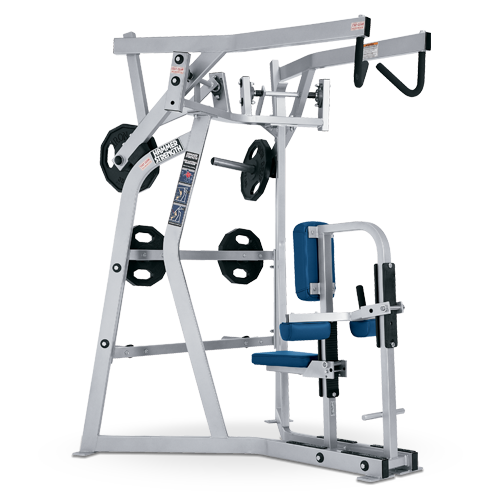 Hammer Strength Plate Loaded – Iso-Lateral high Row