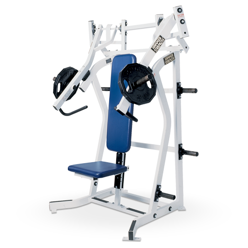 Hammer Strength Plate Loaded – Iso-Lateral incline Press