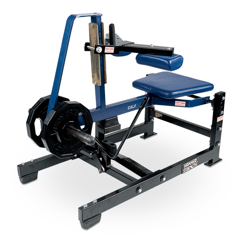 Hammer Strength Plate Loaded – Seated Calf Raise