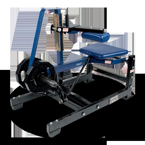 Hammer Strength Plate Loaded – Seated Calf Raise